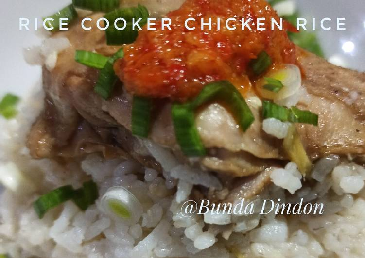 Resep Rice Cooker Chicken Rice