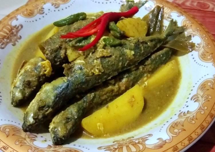 Resep Gulai Kuning Ikan Goreng