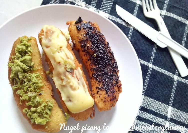 Resep Nuget pisang topping #enakanbikinsendiri