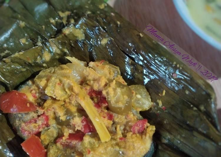 Resep Paisan Iwak Patin (pepes ikan Patin)
