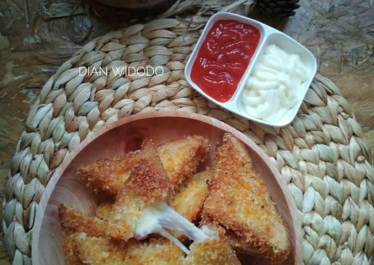 Resep Roti Goreng Mozarella