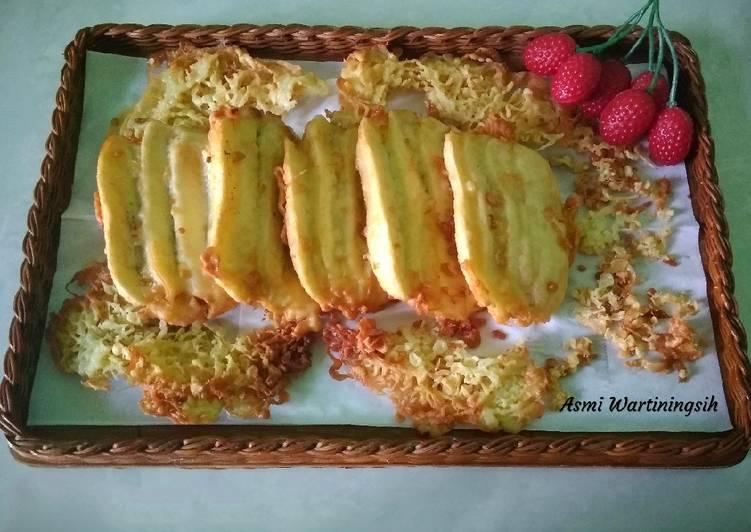 Resep Pisang goreng vanila pontianak