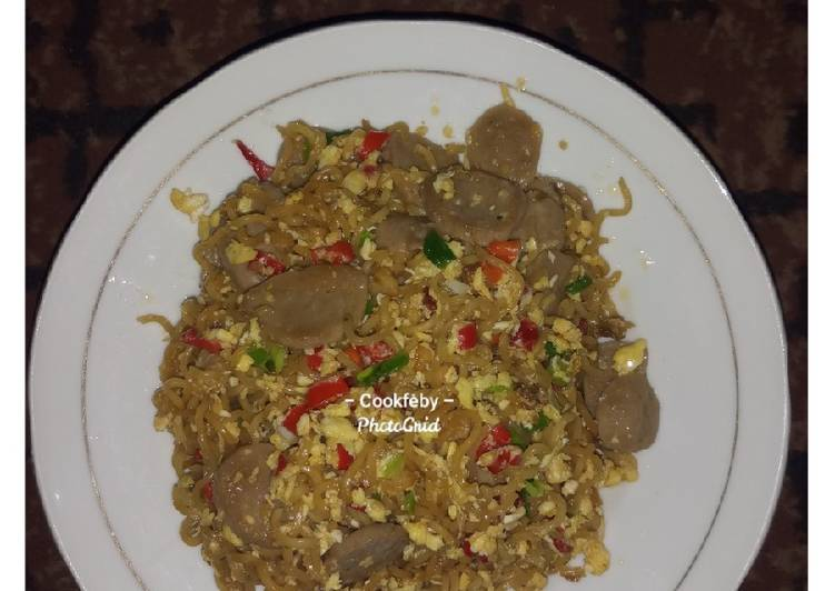 Resep Indomie goreng tumis pedas
