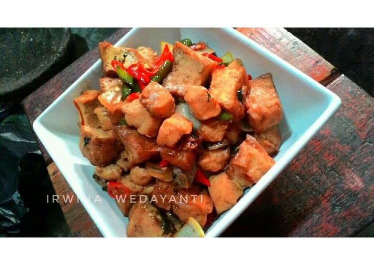 Resep Chicken Tofu Teriyaki