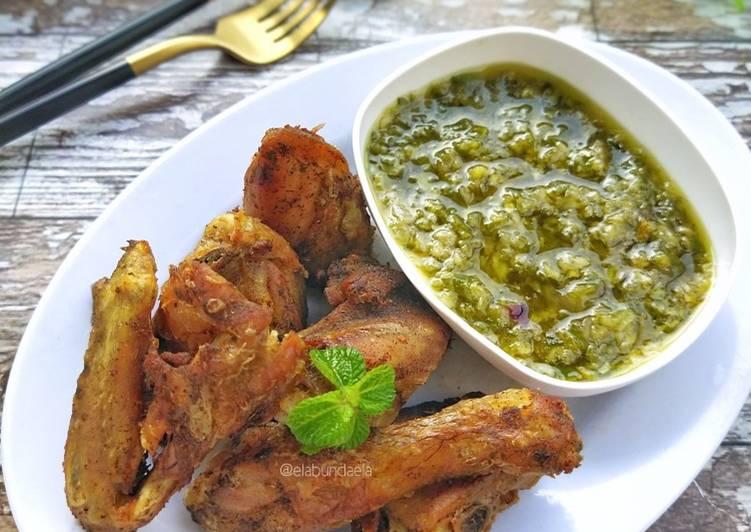 Resep Ayam Batokok Lado Mudo