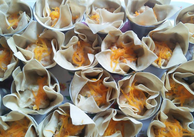 Resep Siomay kulit pangsit cocok untuk balita