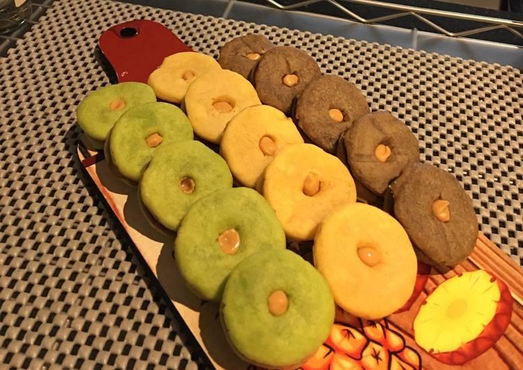 Resep Cookies ekonomis/ tiga bahan dasar (Teflon)