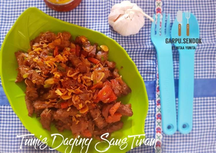 Resep Tumis Daging Saus Tiram