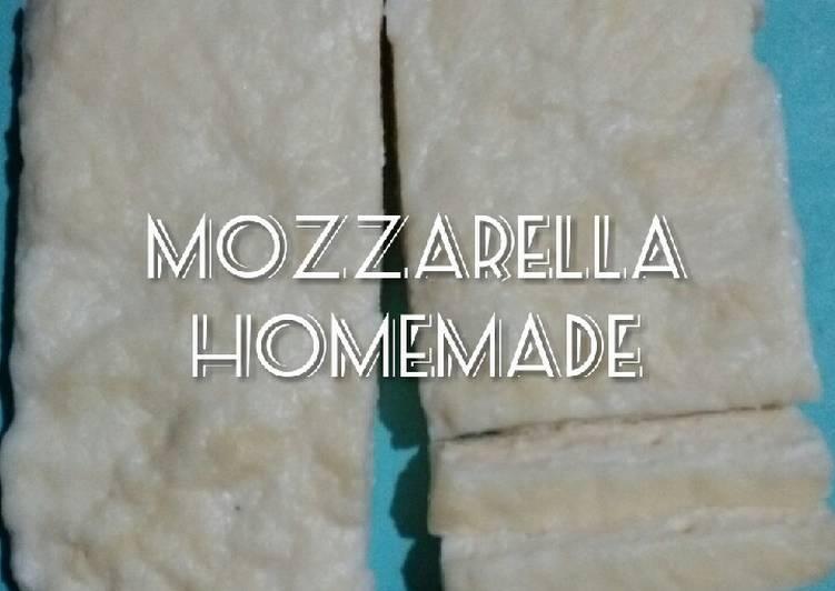 Resep Mozzarella Homemade