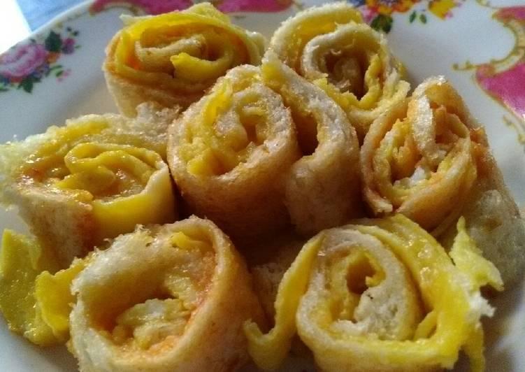 Resep Roti gulung telur