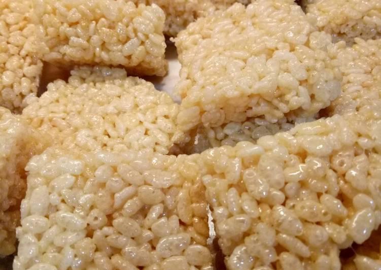 Resep Rice crispy simple untuk bekal anak2