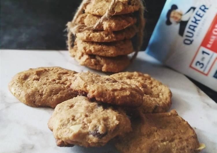 Resep Oatmeal Cookies