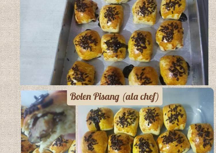 Resep Bolen Pisang (ala chef)