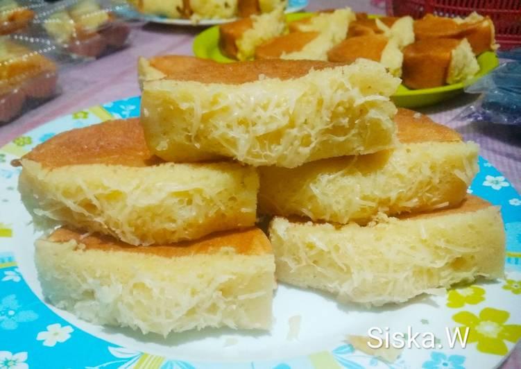 Resep Pukis Isi Keju (resep awal) |Old Recipe