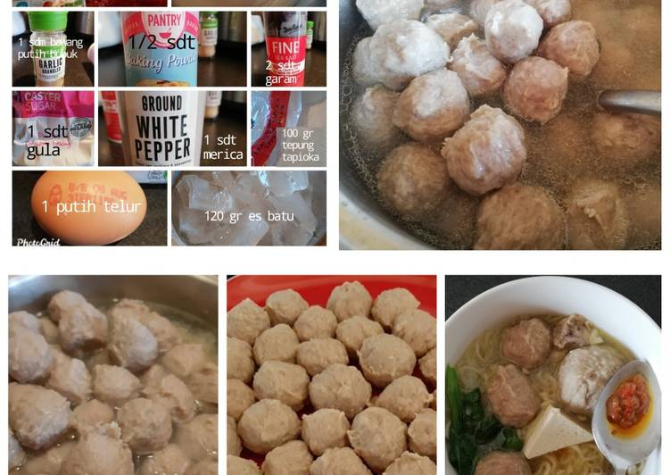 Resep Bakso Sapi & Ayam (Tanpa MSG)