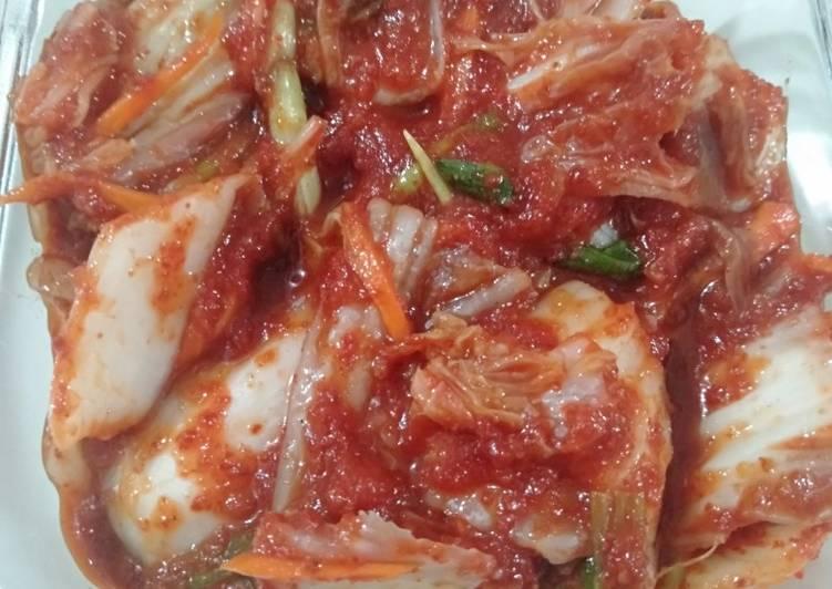 Resep Kimchi home made