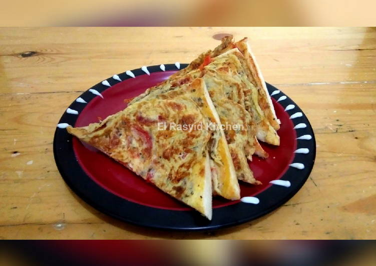 Resep Roti Pizza Teflon ala Rumahan