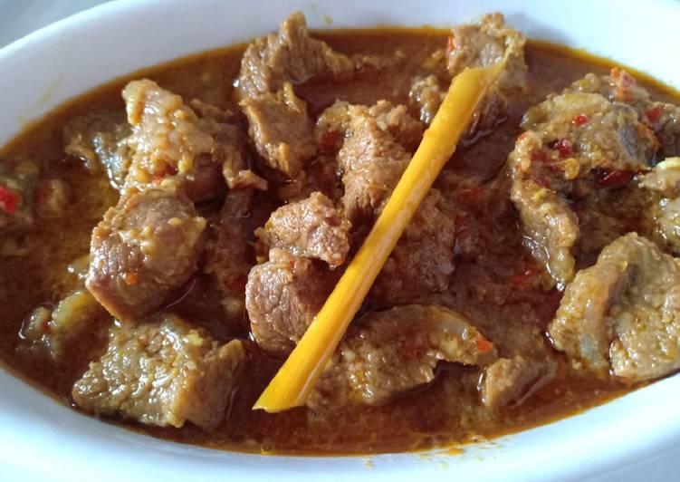 Resep Daging Asam Padeh