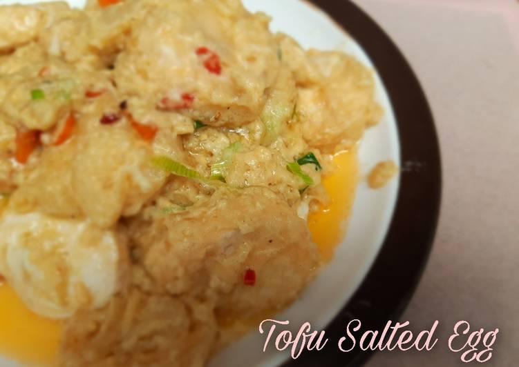 Resep Tofu Salted Egg