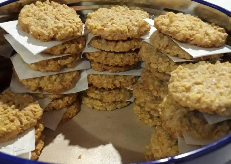 Resep Oatmeal Cookies Jahe
