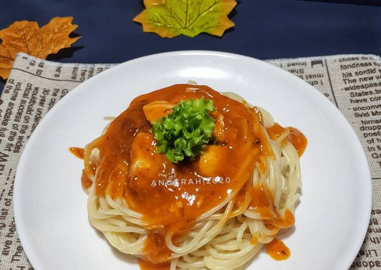 Resep #Chicken Spaghetti