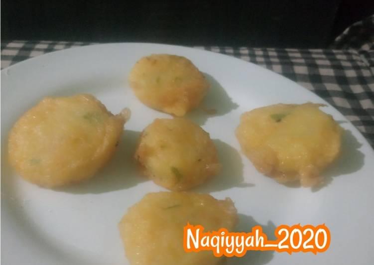Resep 1Perkedel kentang wortel