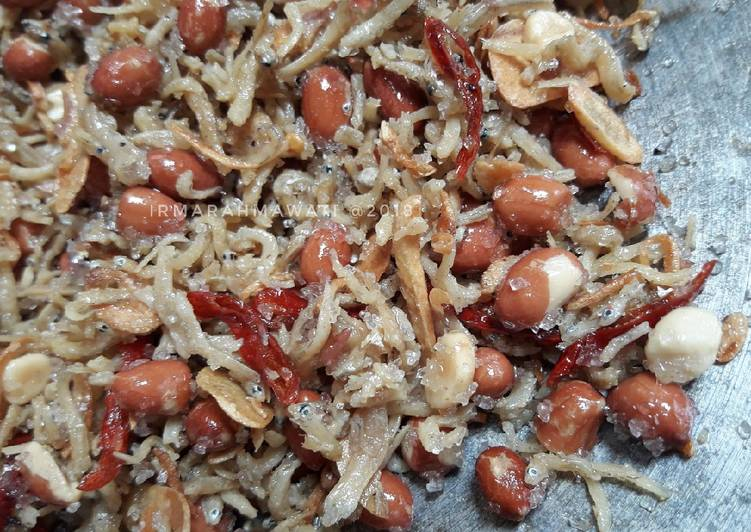 Resep Kering Teri Kacang #pr_wantuteri