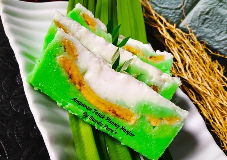 Resep Amparan Tatak Pisang Banjar By Bunda Pure's