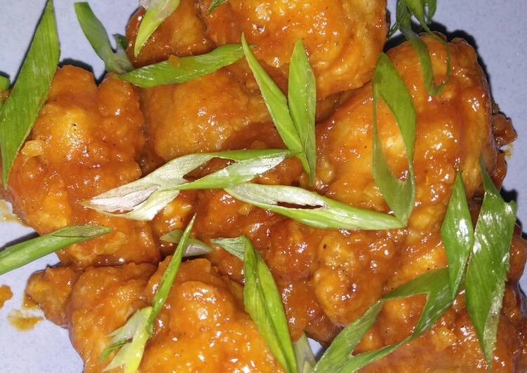 Resep 1Fire chicken wings (Richeese kw)