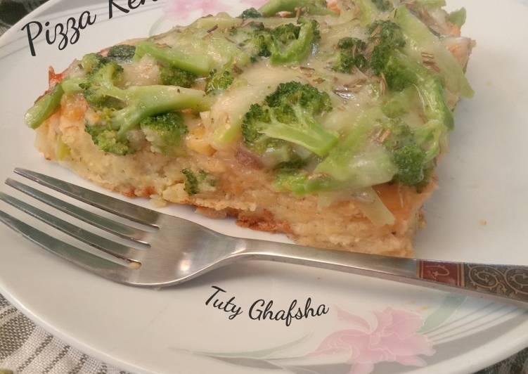 Resep Pizza Kentang Brokoli