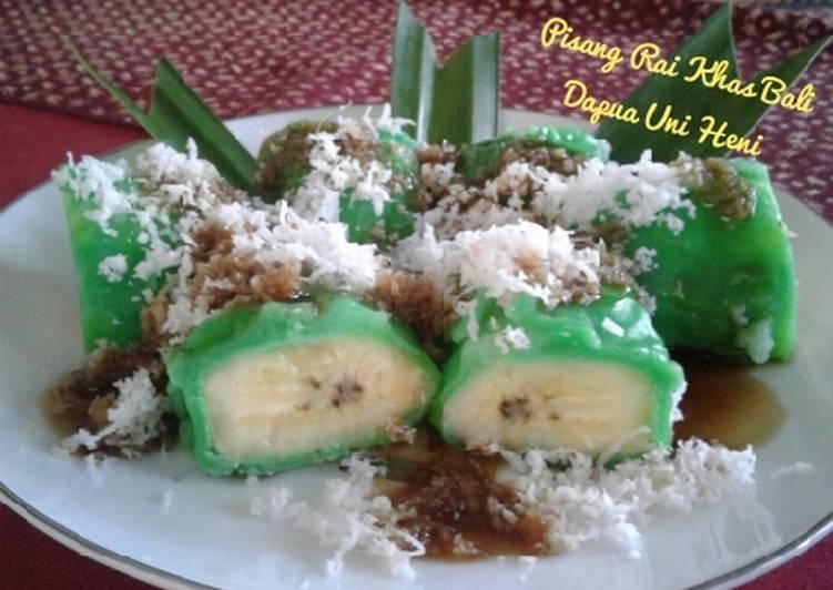 Resep Pisang Rai Khas Bali