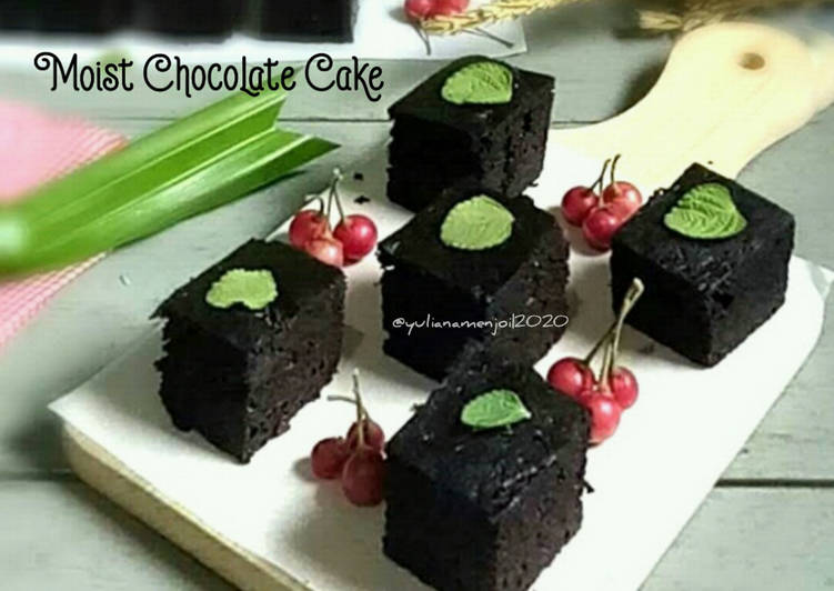 Resep Moist Chocolate Cake