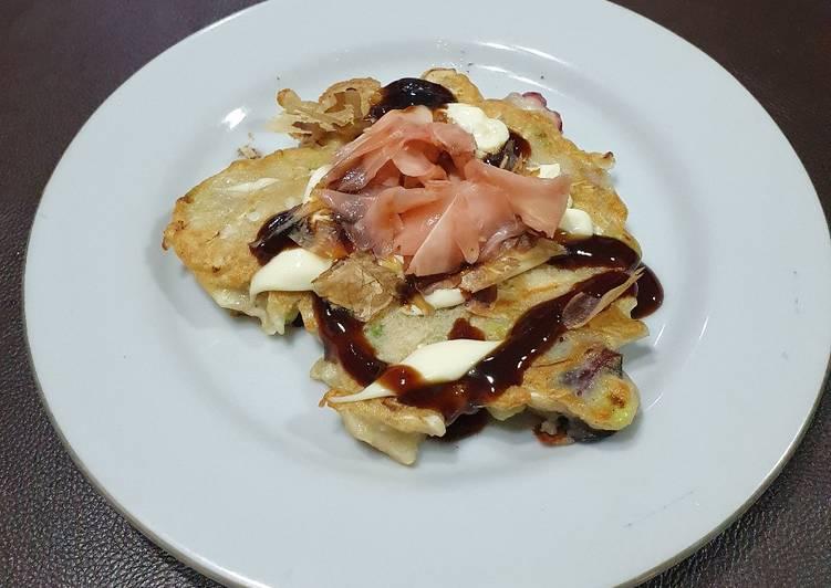 Resep Okonomiyaki Gurita