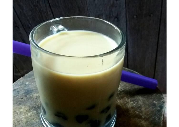 Resep Boba Milk Tea