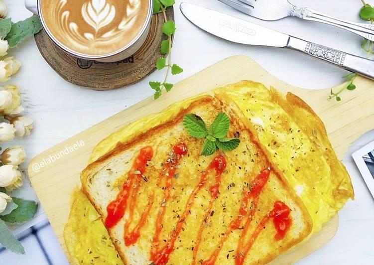 Resep Simple Breakfast Toast
