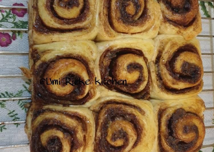 Resep Cinnamon Rolls lembut