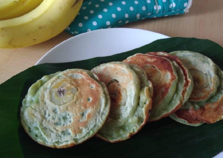 Resep Pancake pisang fluffy