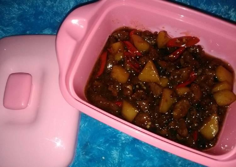 Resep Daging saus inggris