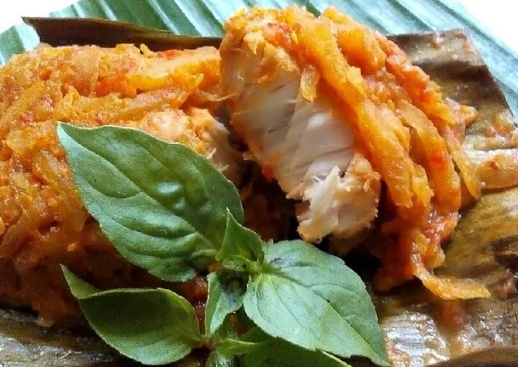 Resep Pepes Ikan Tuna Mangga Muda