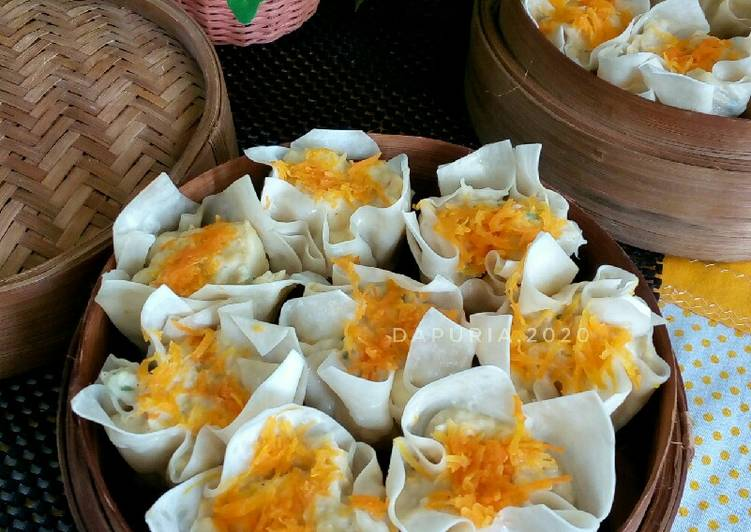 Resep Siomay Udang Ayam