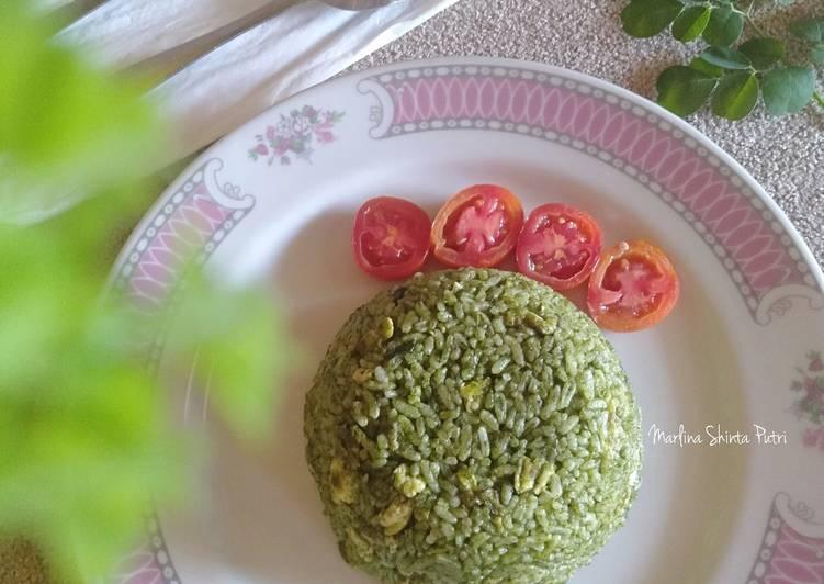 Resep Nasi Goreng Daun Kelor (Moringa)