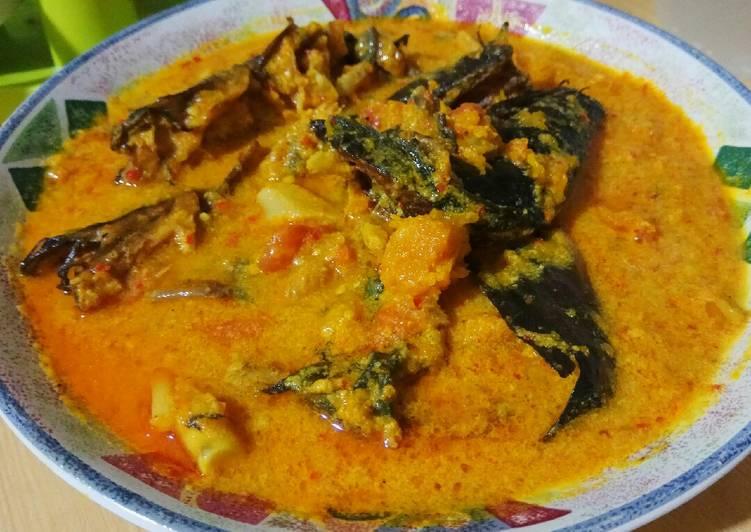 Resep Gulai Ikan Asap Labu Kuning