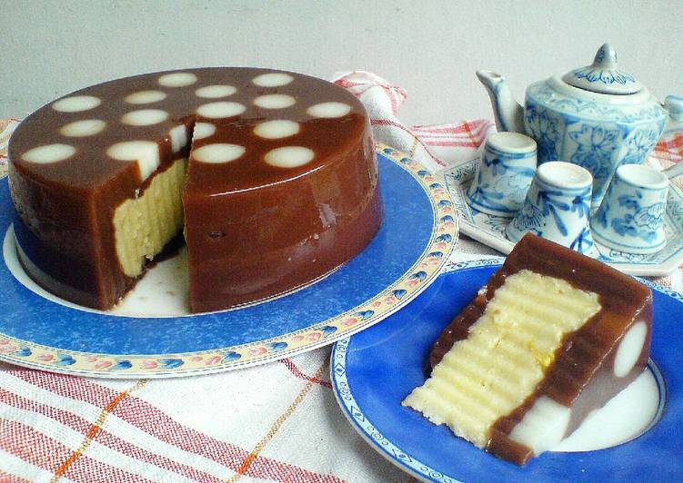 Resep Puding Polkadot Roti Coklat #bikinbareng
