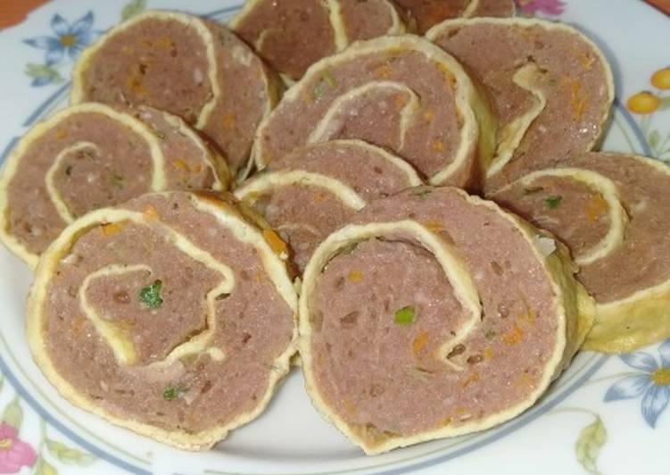Resep Rolade Daging Sapi plus Wortel
