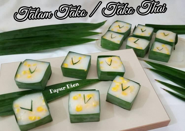 Resep Talam Tako / Tako Thai