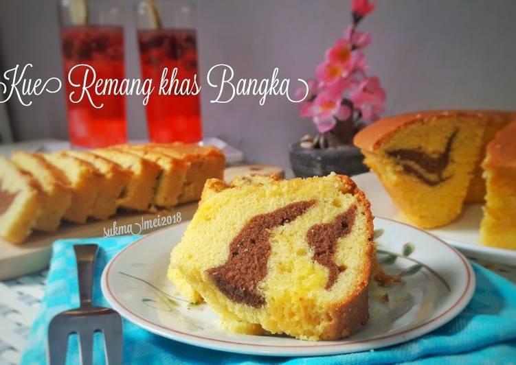 Resep Kue Remang Khas Bangka #Kamismanis