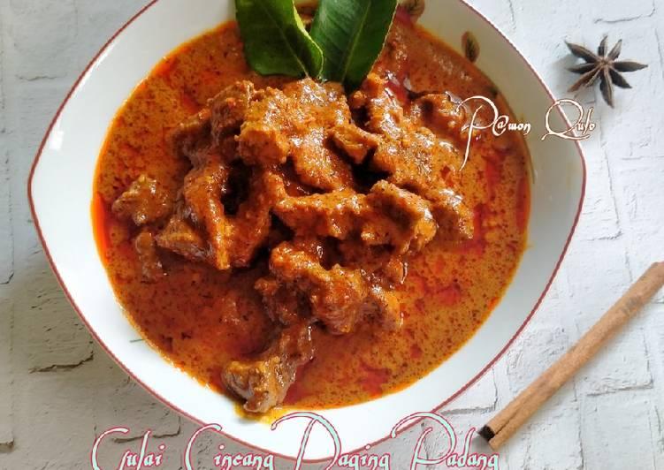 Resep Gulai Cincang Daging Padang