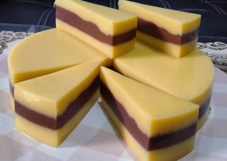 Resep Puding Lapis Jagung Chocolatos