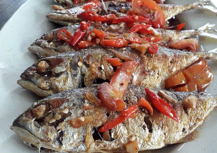 Resep Ikan Kembung Kecap Pedas