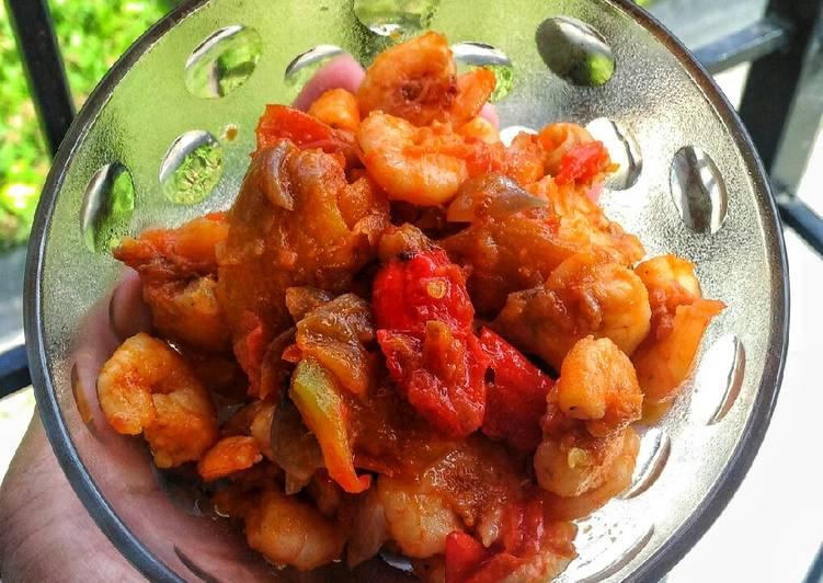 Resep Udang sambal bawang
